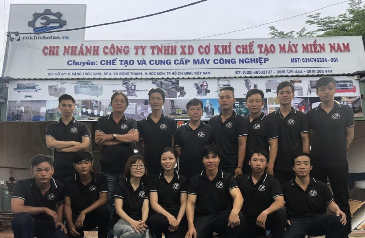 Công ty TNHH Xây Dựng Cơ Khí Chế Tạo Máy Miền Nam