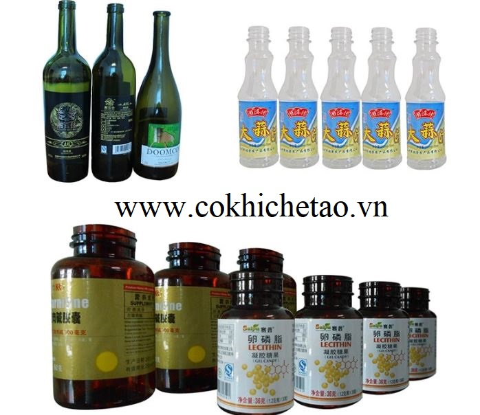 bán máy dán nhãn chai tự động