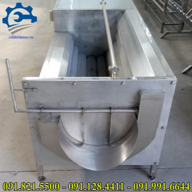 máy gọt rửa vỏ khoai tây công nghiệp
