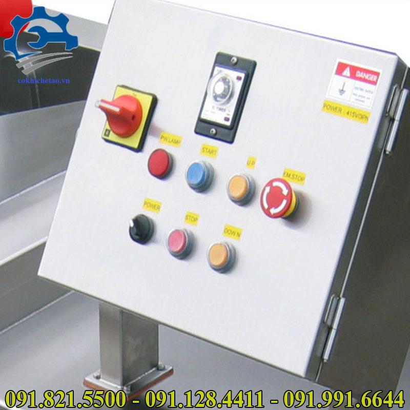 máy rửa rau củ quả công nghiệp