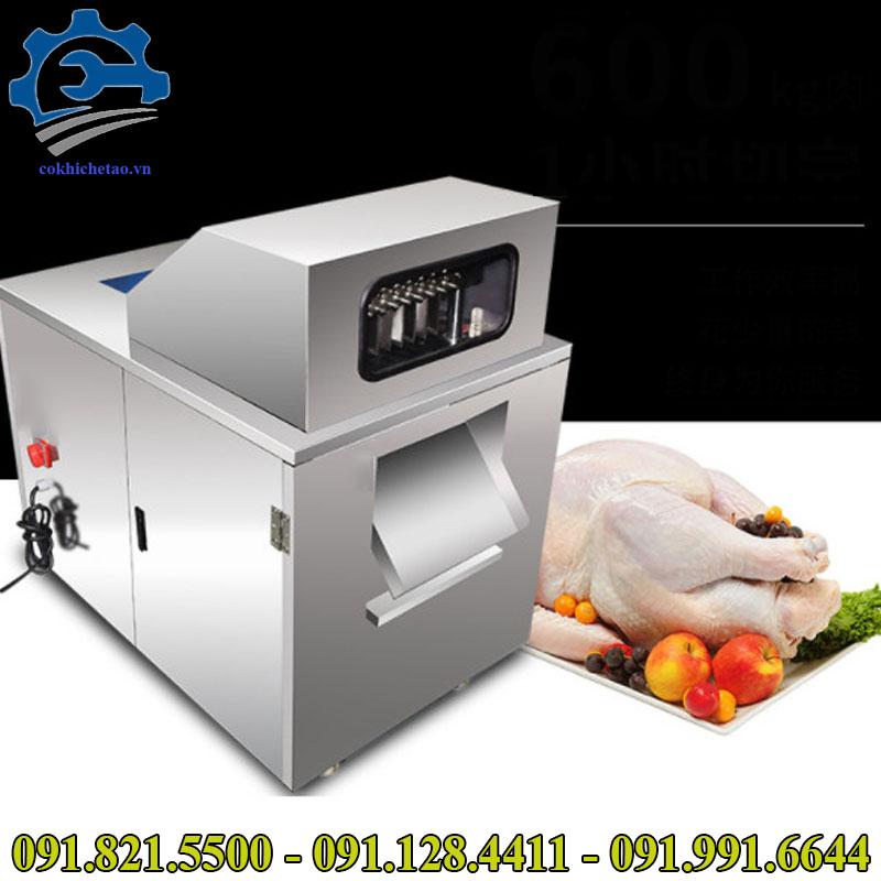 máy cắt thịt tươi sống