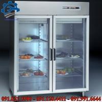 Tủ giữ lạnh trưng bày- Tủ mát 2 cánh, tủ giữ mát bảo quản thực phẩm