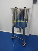 Bồn trung gian chứa mỹ phẩm – Bồn trung chuyển nguyên liệu, bồn tạm trữ nguyên liệu
