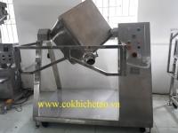 Máy trộn bột hình lập phương, máy trộn công suất lớn - Máy trộn bột, trộn ngũ cốc, trộn thực phẩm