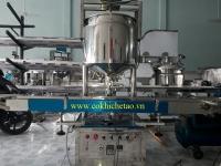 Máy chiết dịch đặc một vòi có gia nhiệt – Máy chiết kem ủ trắng, chiết kem dưỡng trắng