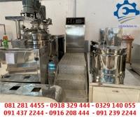 Máy đồng hóa mỹ phẩm, máy sản xuất mỹ phẩm – Máy nhũ hóa hút chân không