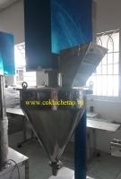 Máy chiết rót bột, máy chiết bột định lượng trục vít – Máy chiết định lượng dạng bột, máy định lượng bột