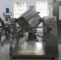 Máy trộn lập phương, máy trộn bột công nghiệp – Máy trộn bột công suất lớn