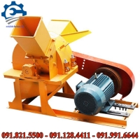 Máy nghiền gỗ công nghiệp- máy băm nghiền xơ dừa, cành cây đa năng