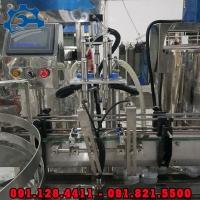 Máy chiết rót nước ngọt tự động, dây chuyền sản xuất nước đóng chai
