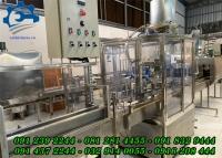Máy chiết nước đóng chai – Dây chuyền sản xuất nước tinh khiết, Máy chiết nước suối, nước mắm, nước ngọt