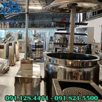 Máy trộn hóa chất công nghiệp, máy khuấy mỹ phẩm, thực phẩm dạng lỏng