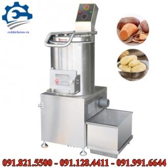 Máy gọt vỏ khoai tây- Máy bóc vỏ khoai siêu nhanh, máy gọt vỏ nông sản