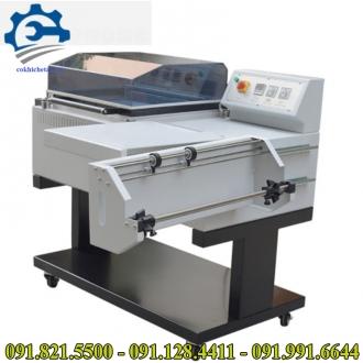 Máy cắt hơ màng co 2 in 1- Máy đóng gói màng co nhiệt, máy bọc màng co