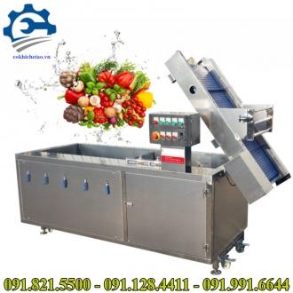 Máy rửa rau củ quả ozone- Máy rửa rau quả sạch, máy khử độc thực phẩm