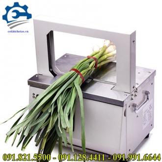 Máy buộc dây mềm- Máy buộc dây nilon sản phẩm,máy cột dây rau siêu thị