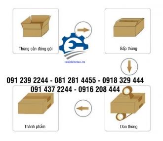 Máy đóng thùng carton – Máy dán thùng carton tự động