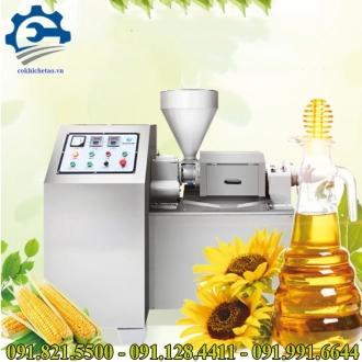 Máy ép dầu thực vật công nghiệp- Máy ép dầu lạc công suất lớn