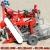Máy thu hoạch đậu liên hoàn- Máy kéo thu hoạch đậu có động cơ